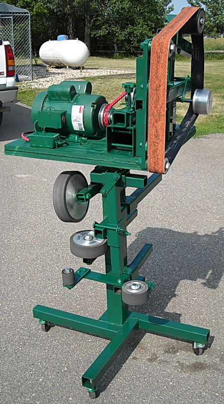 Plans For 2 Quot X72 Quot Knife Grinder Sander No Welding Required