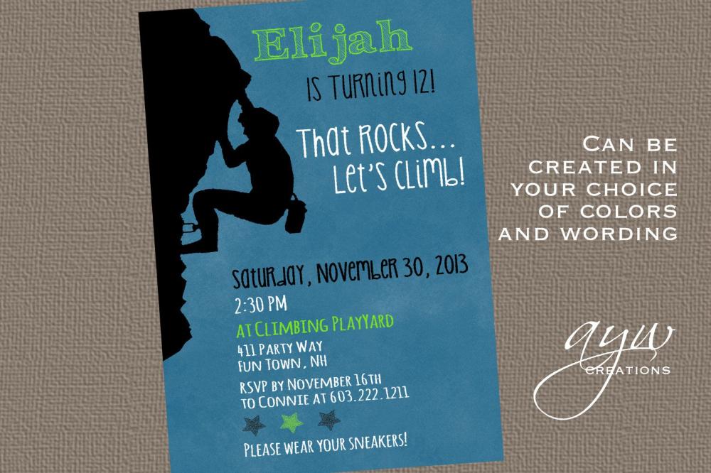 Kindergeburtstag Einladung Thema Klettern In 2020 Einladung Kindergeburtstag Einladung Zur Geburtstagsparty Einladung Geburtstag