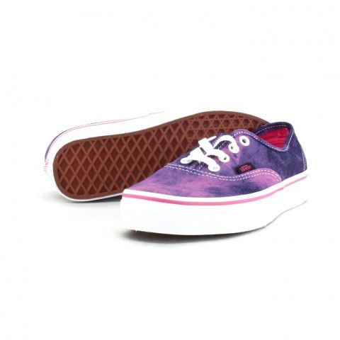 Who said denim can only come in clothing? Get your acid wash denim Classic Vans now!