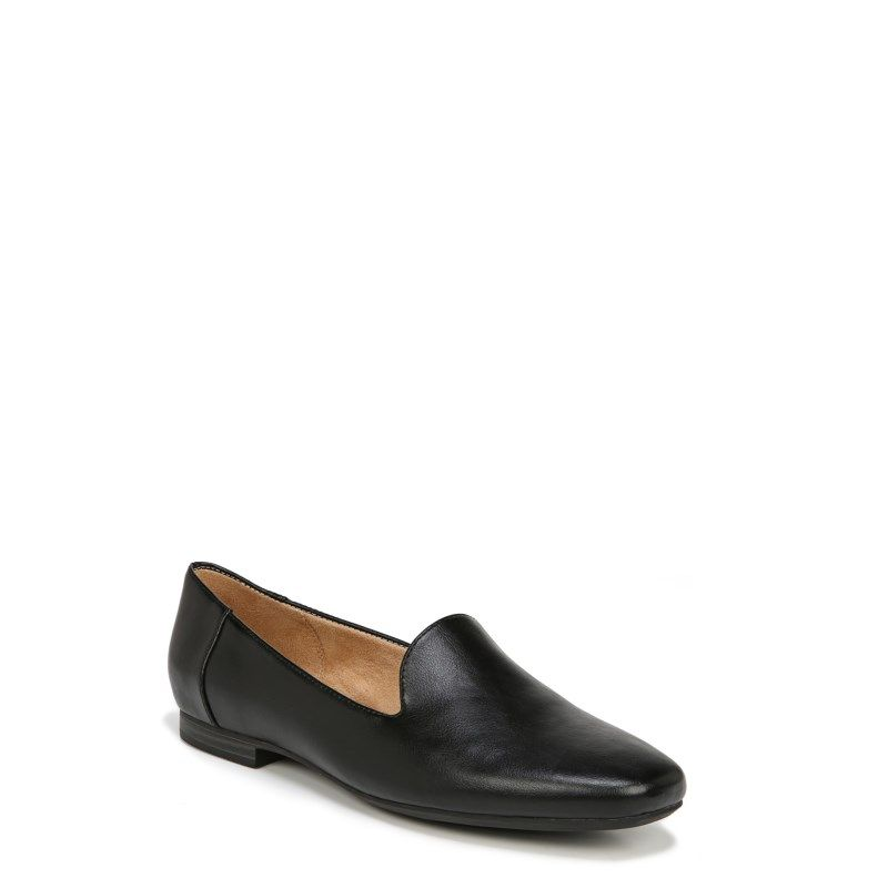 7b1297add2c Naturalizer Women s Kit 2 Medium Wide Loafers (Black Smooth) in 2019 ...