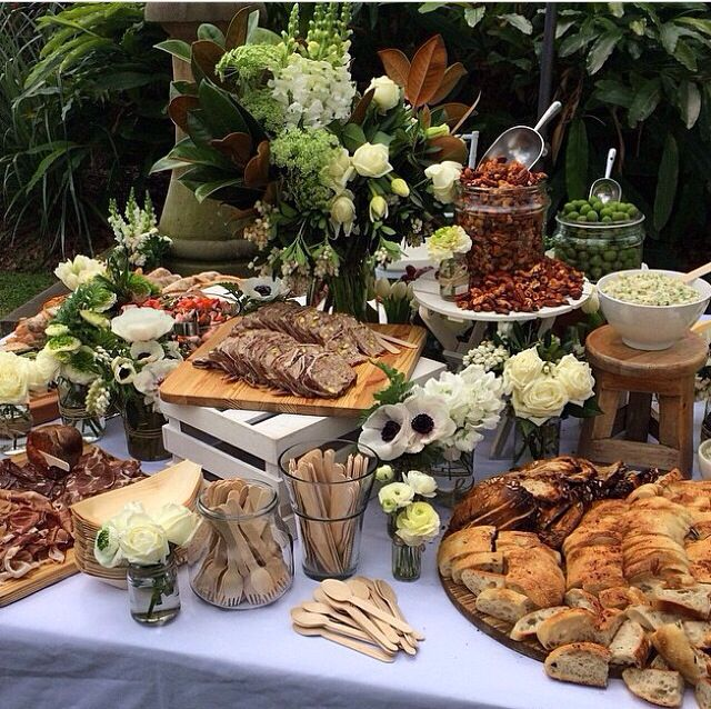 Wedding Food Tables: Pin By Robin Arlington On Catering In 2019