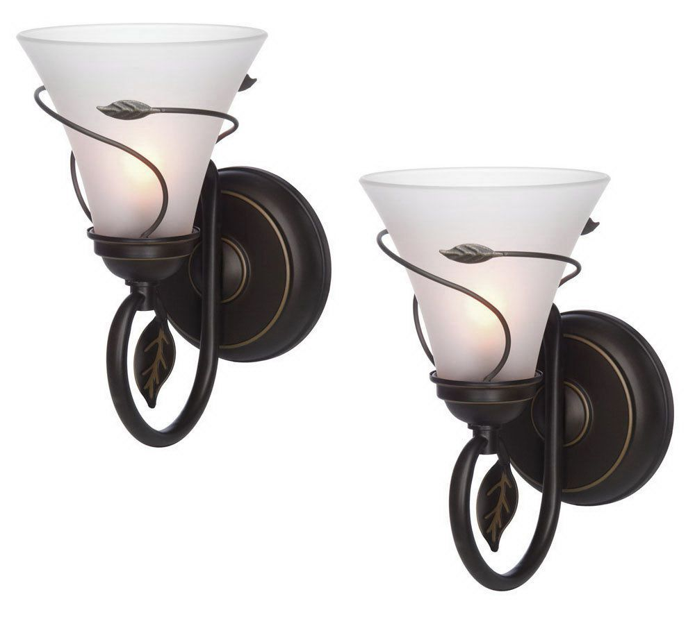 Candle Impressions S 2 Vine Wrapped Flameless Sconces W Timer Qvc Com Candle Impressions Flameless Sconces Wireless Wall Sconce