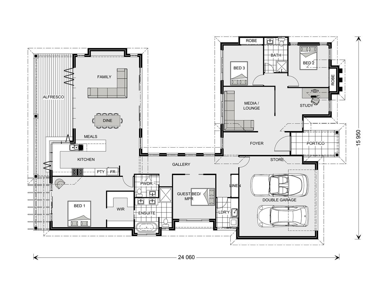 80 best house plans images on Pinterest | House floor plans, Homes ...