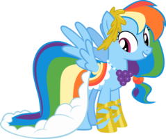Rainbow Dash S Grand Galloping Gala Look With Images Rainbow
