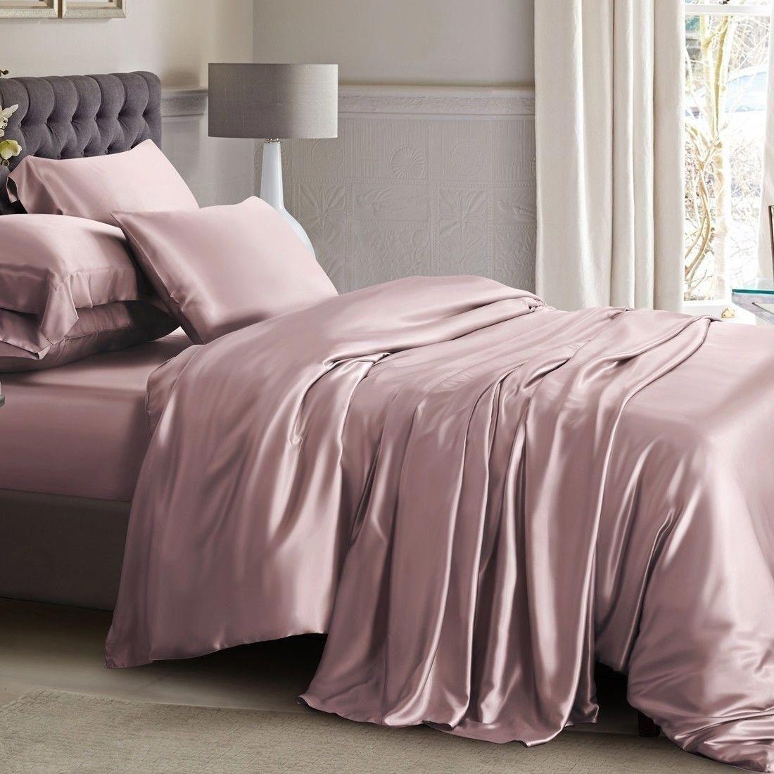 Bespoke Silk Bed Linen In 2020 Silk Bed Sheets Bed Linen Design