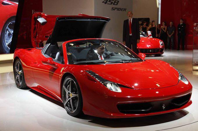Ferrari 458 Spyder IAA
