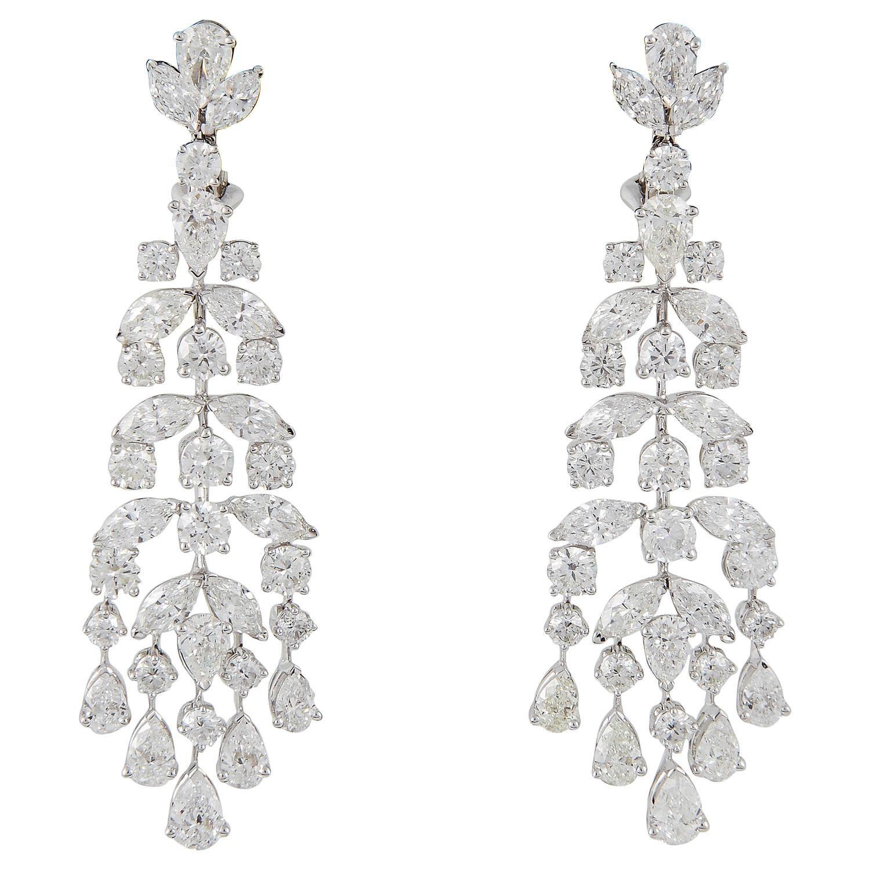 Classic diamond gold chandelier earrings gold chandelier earrings classic diamond gold chandelier earrings arubaitofo Choice Image