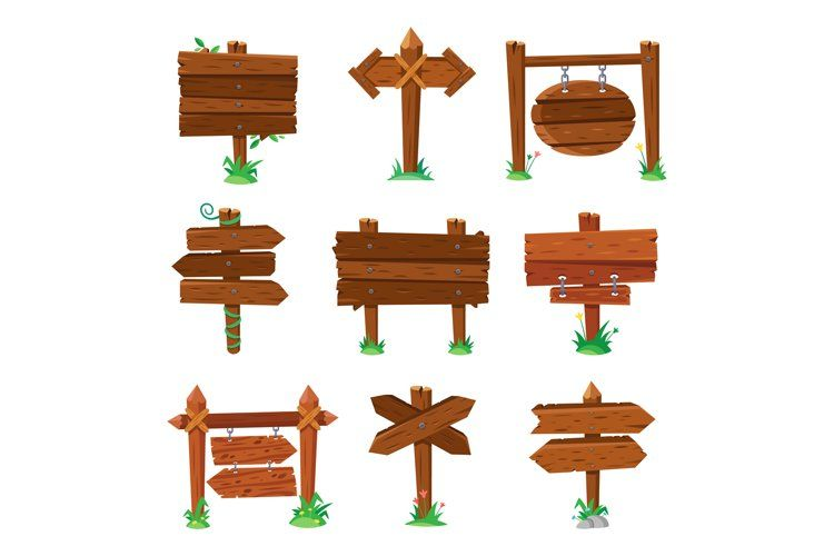 20+ Wood Animal Signs Clipart
