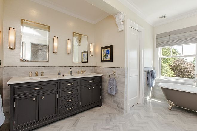 Restoration Hardware Kent Double Vanity Sources On Home Bunch