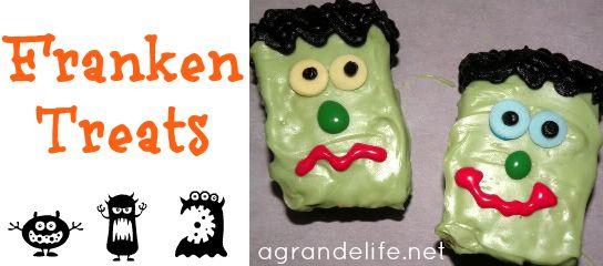Halloween Party Food: Franken Treats