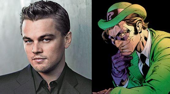 The Dark Knight Rises Details: Studio Wanted DiCaprio as ...  Leonardo Dicaprio Riddler
