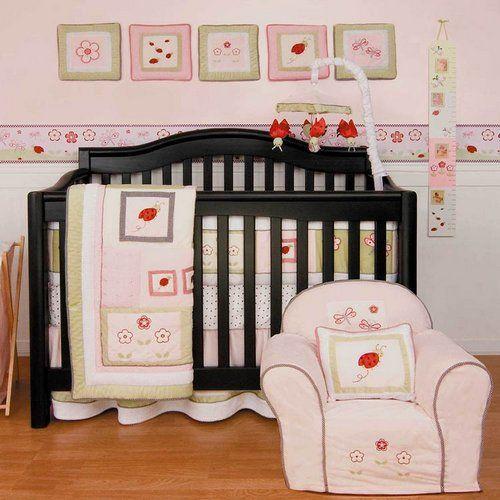 Kidsline Lady Bug 6 Piece Crib Bedding Set 7001BEDS at BabyDirect