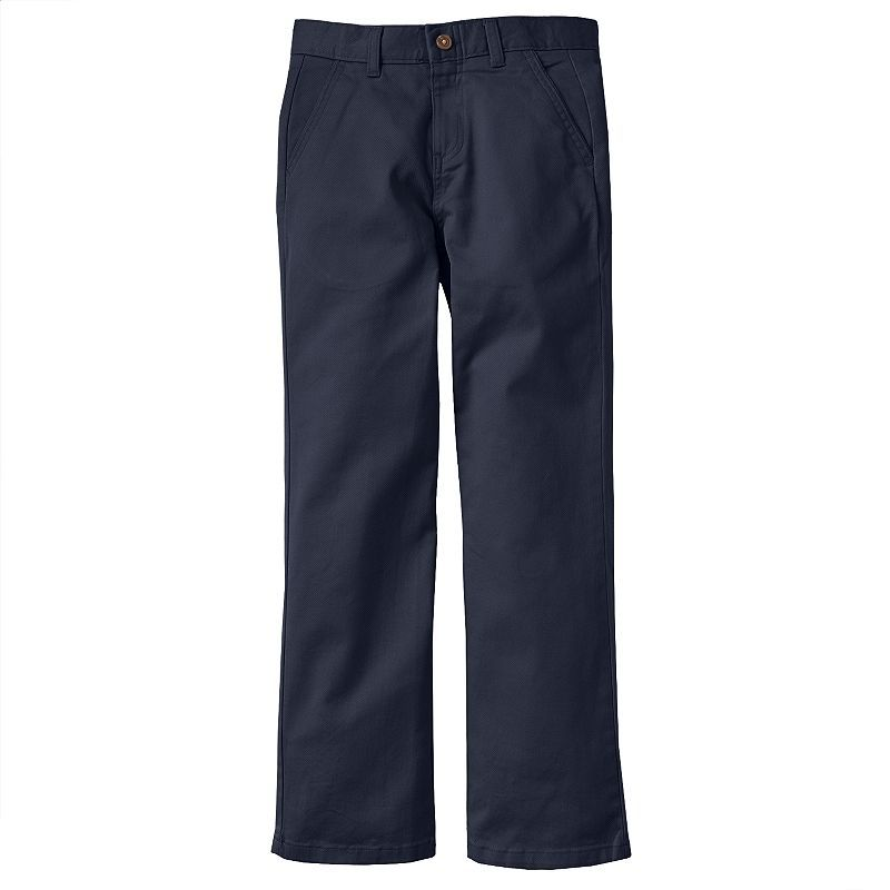 301c1b767 Boys 8-20 Chaps Twill Pants, Boy's, Size: 8, Blue (Navy) | Products ...