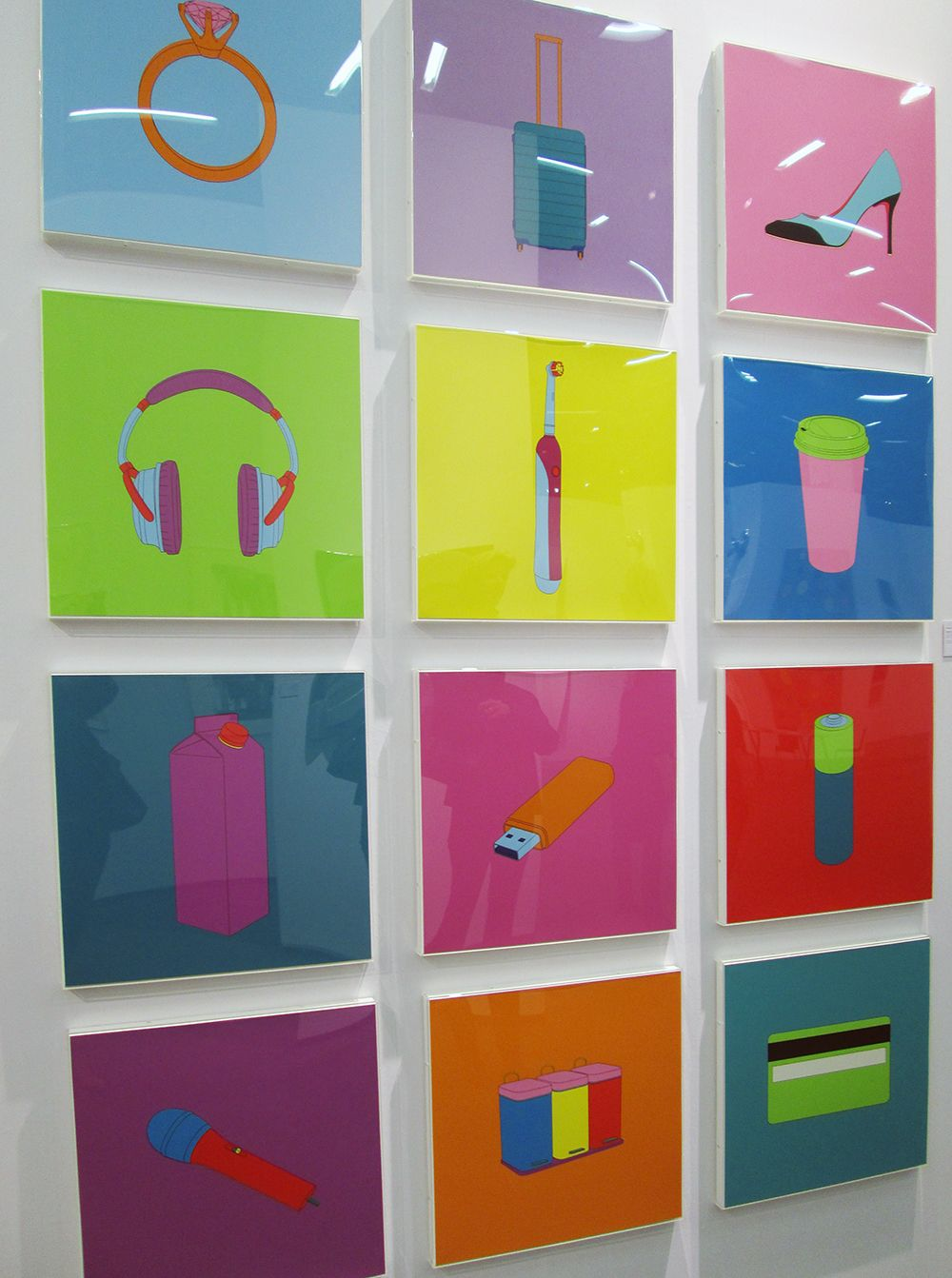 Michael Craig-Martin, Objects of our Time, 2014