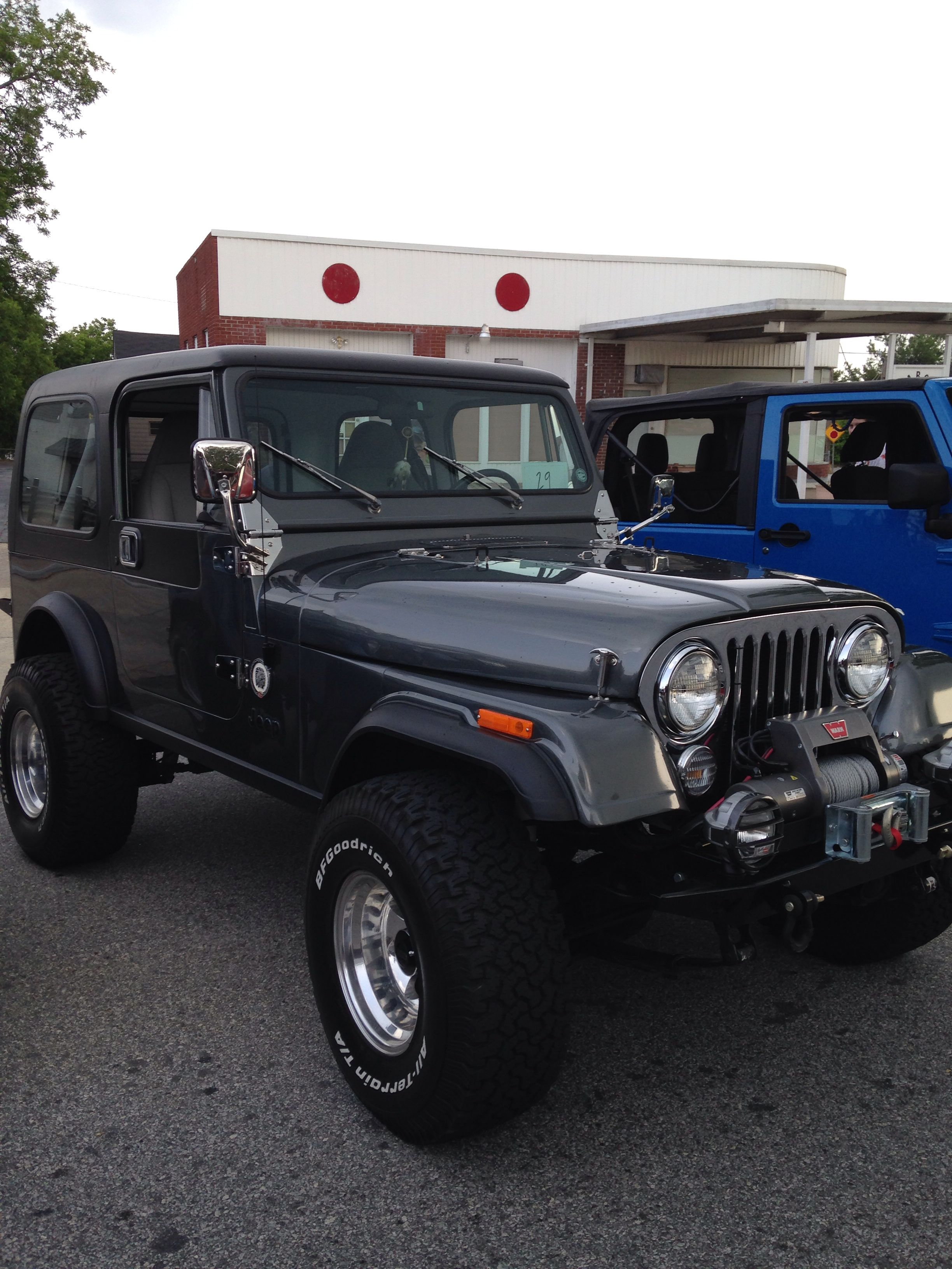 Jeep Cj7 At The Jeep Show Pickens Sc Jeep Cj7 Jeep Jeep Cj