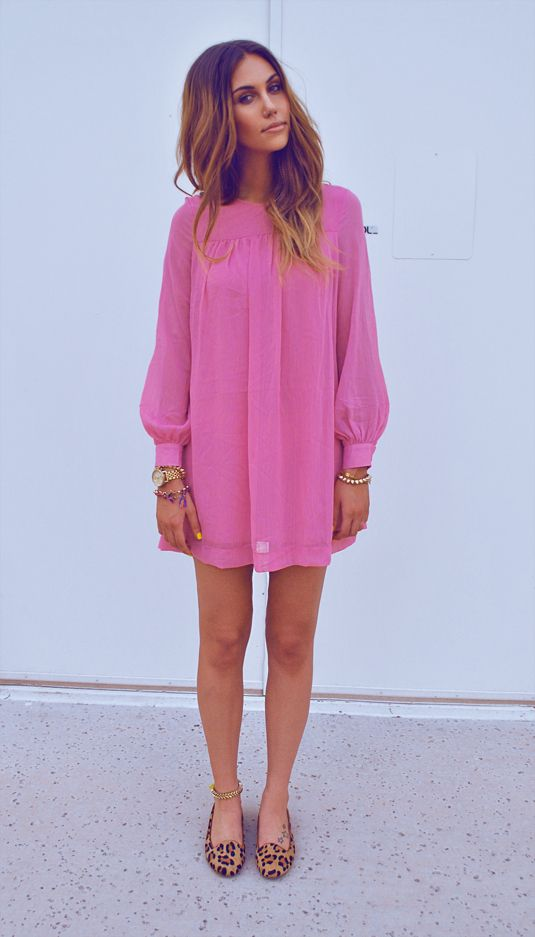 ecb2387f6f 40 Beautiful Pink Colored Outfits – Why Are They Considered So ...