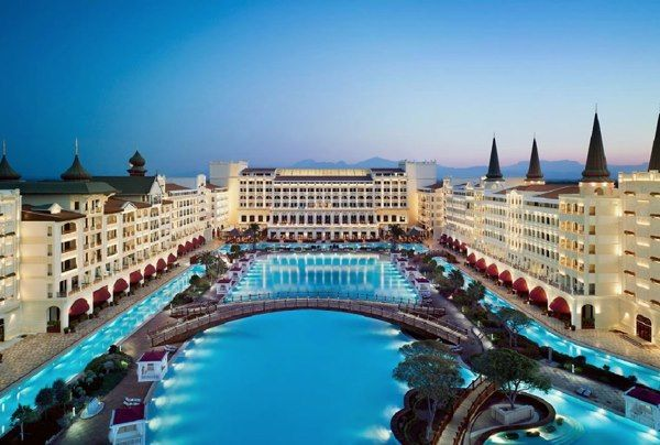 Mardan Palace Antalya Turkey A Luxurious 5 Star Hotel With All The Bells And Whistles