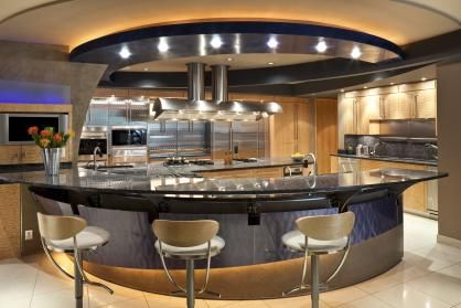 Pin By White Klump Photography Sarah On For The Home Luxury Kitchen Dreams Luxury Kitchen Modern Luxury Kitchen Island