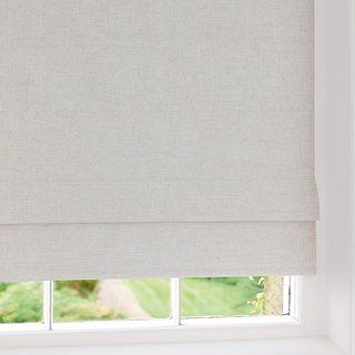 Ivory Linen Blackout Roman Blind Roman Blinds Blackout