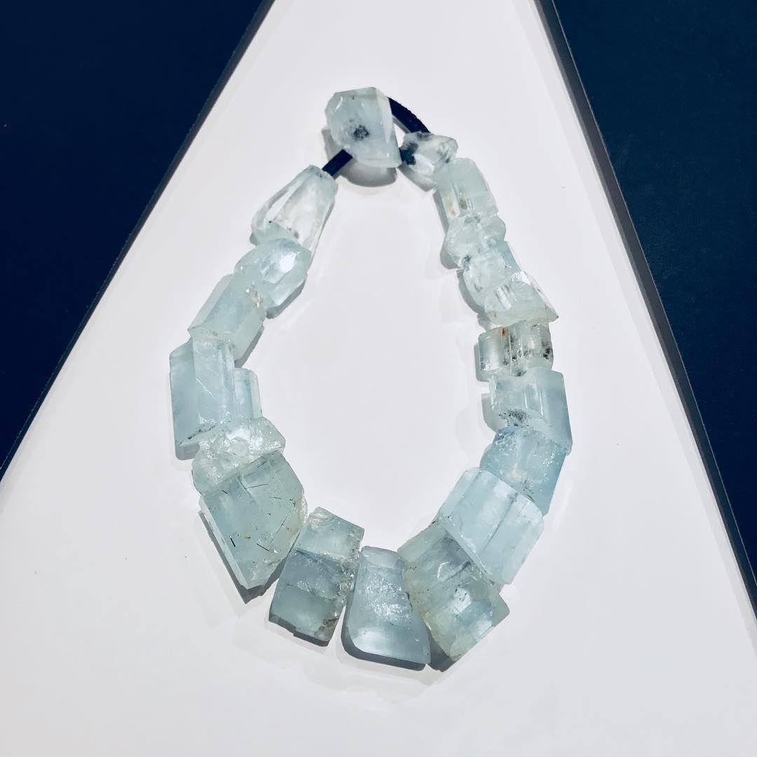 "MONIES Italia on Instagram: ""Showroom milano_monies Unique Necklace- Aquamarine #moniesmilano #moniesitalia #moniesjewelry #viadurini #art #durinidistrict #viacerva…"""