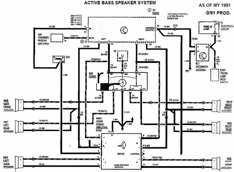 mercedes wiring diagram     automanualparts com