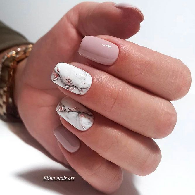 30+ Good Reasons To Pick Squoval Nails   NailDesignsJournal.com