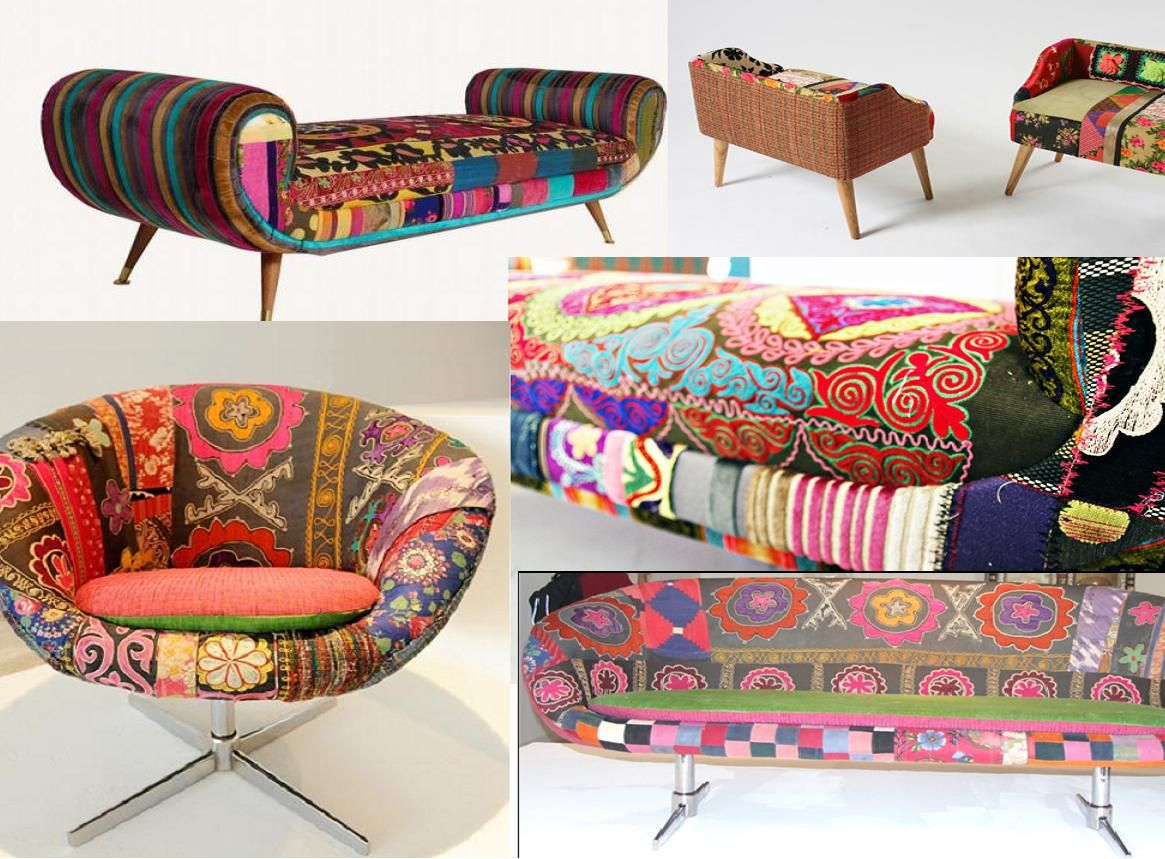 Beautiful Bokja Amazing Lebanese Furniture Upholstered In Vintage Middle Eastern  Fabrics.