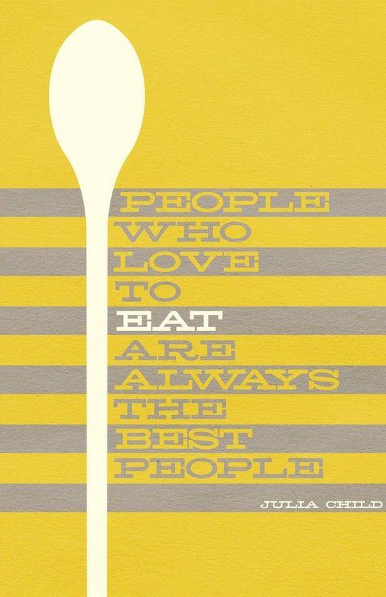 Julia Child via My Little Happy Plate