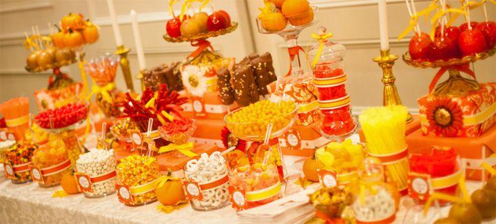 fall candy table   ... - Treats - Sweet Design Company: Autumn ...