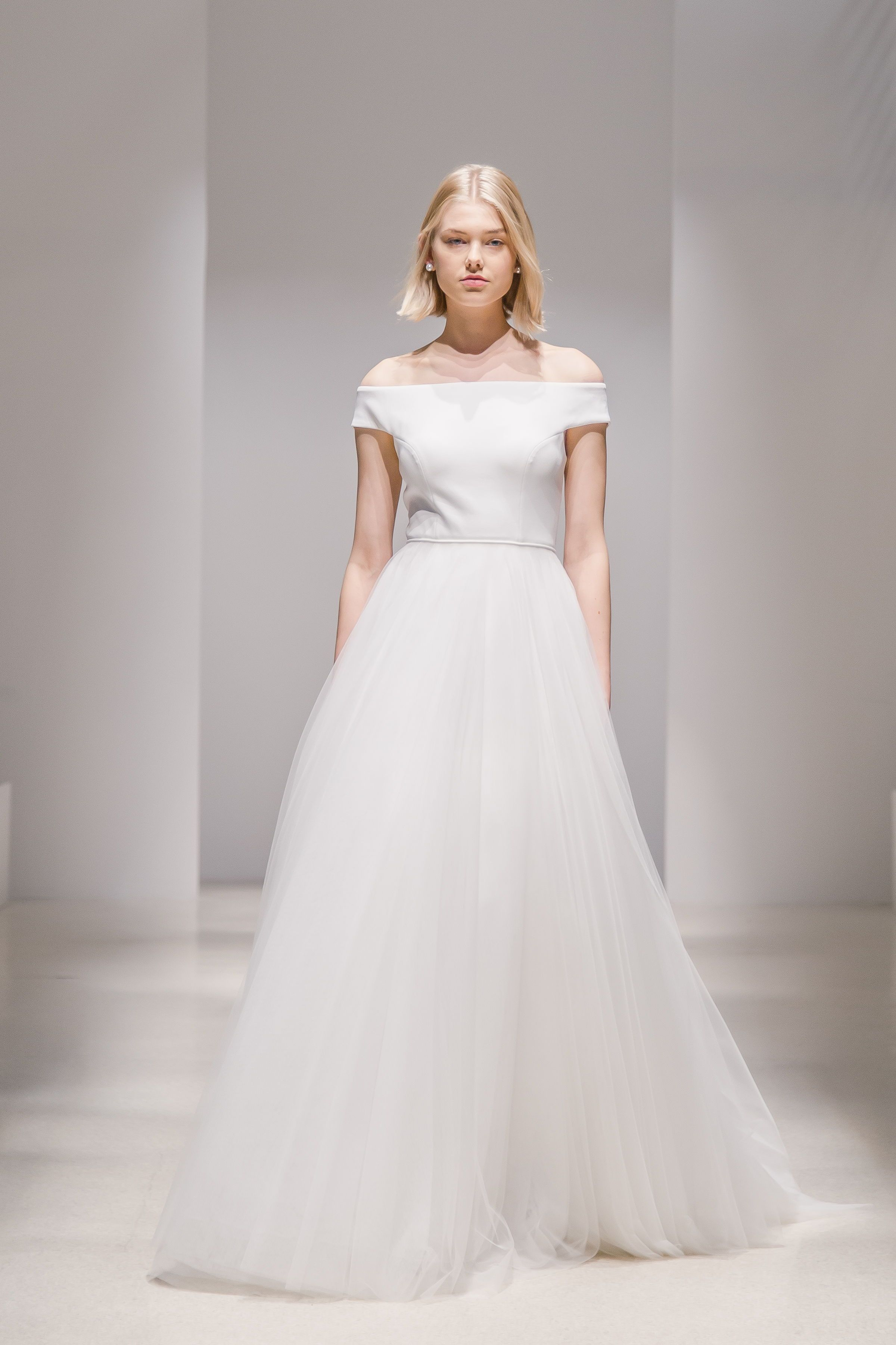 Modern Princess with a Cool Girl twist. The Amelia Gown by Jenny by Jenny  Yoo 2019 is a unique take on the classic Ball gown silhouette 52cb38bd23dc