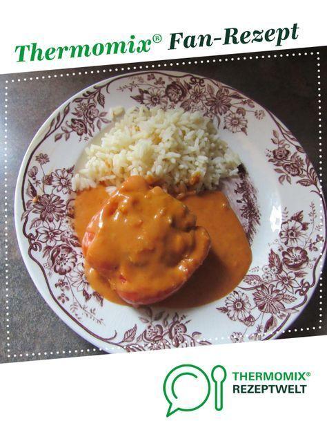 Paprikaschoten mit Reis von Dorothee13. Ein Thermomix ® Rezept aus der Kategorie Hauptgerichte mit Fleisch auf , der Thermomix ® Community.