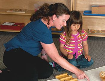 What is Looping? In public Montessori schools, it can sometimes be very difficult to get all of the lessons in. Since children don't work in multi-age groups in a public school, one way to maintain Montessori values and benefits is to use looping, which is students staying with the same class and teacher for more than one year. In this way, there is no time lost for teachers getting to know students- following the child is easier, and the flow of lessons and learning is unbroken.