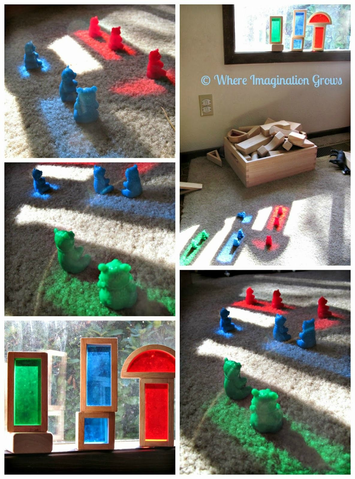 Color Recognition With Light & Rainbow Blocks Preschool