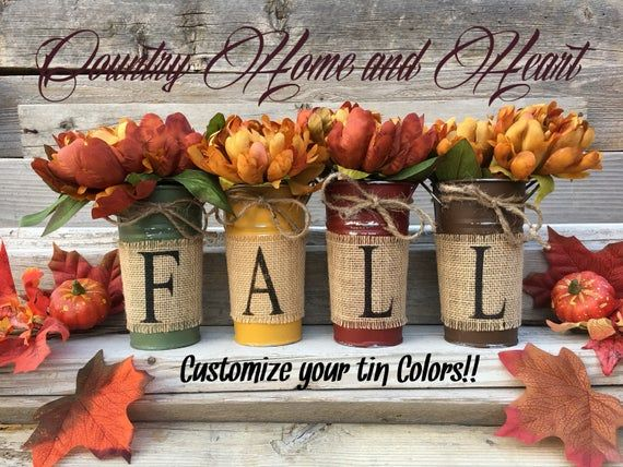 Fall Burlap, Country Fall Decor, Rustic Fall Decorations, Fall Floral Centerpiece, Fall Decor with Flowers and Burlap, Farmhouse Fall Decor