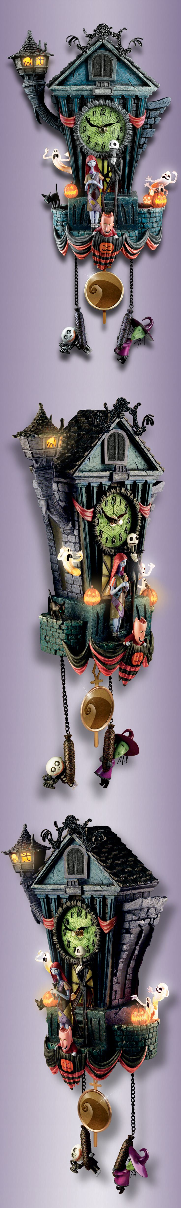 The Nightmare Before Christmas Cuckoo Clock | Cuckoo clocks ...