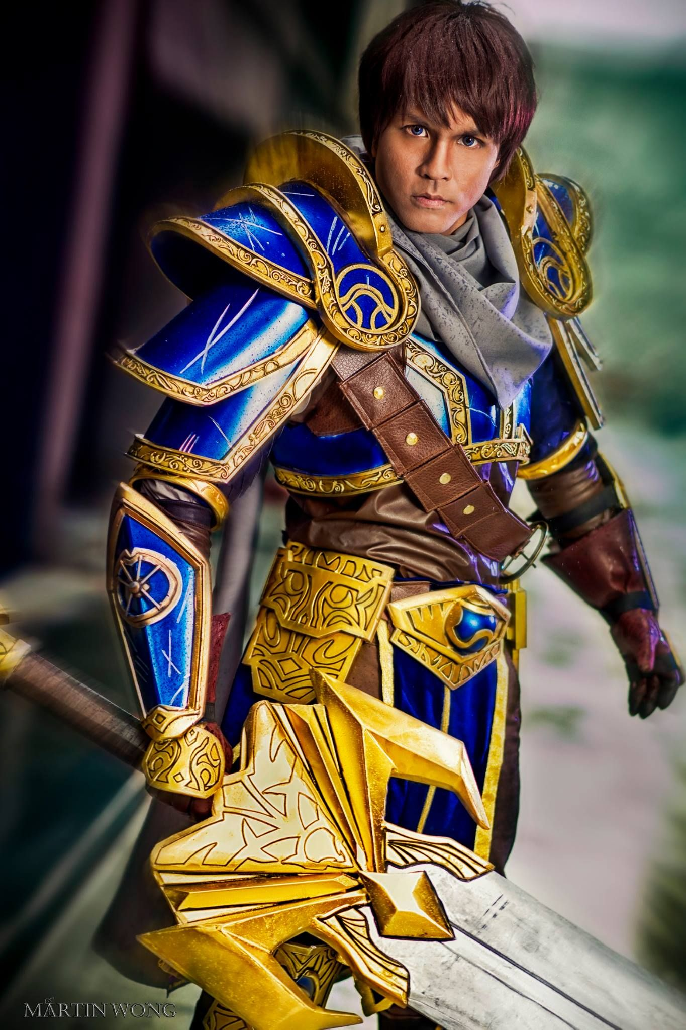 League of Legends - Garen Cosplay by Junkers Cosplay Inc. Photo by Martin Wong