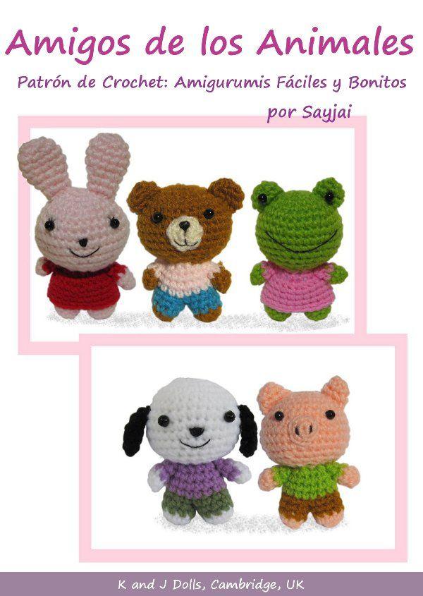 Amigos de los Animales, Patrón de Crochet - Los patrones de ...
