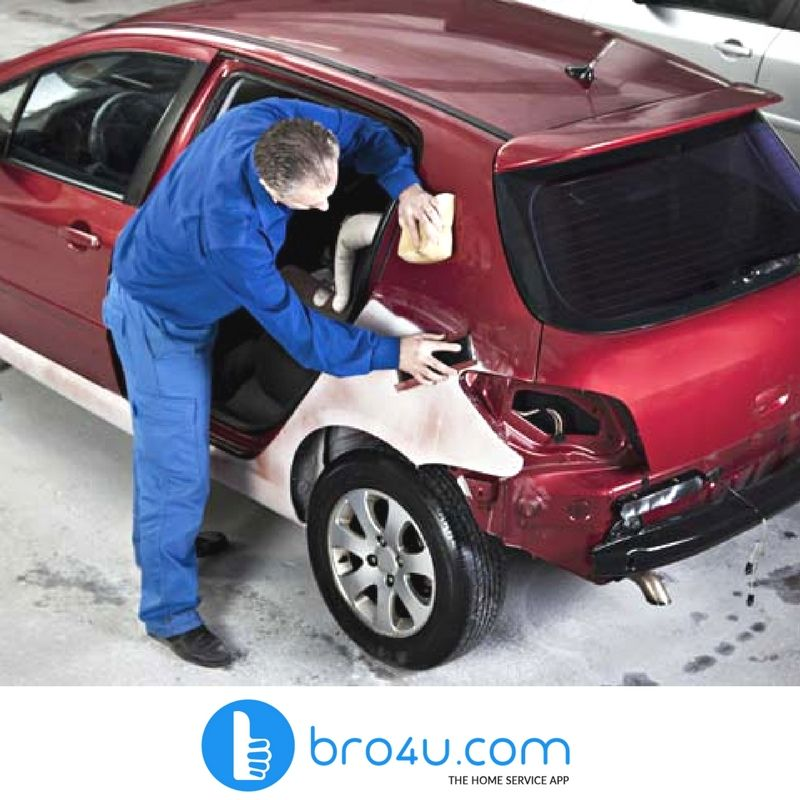 Car denting service at Bro4u is the most convenient way to