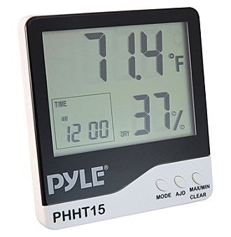 Pyle Pro Indoor Digital Hygro thermometer Thermometer