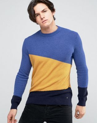 963fe69ff7 United Colors of Benetton Waffle Jumper In Cashmere Blend With ...