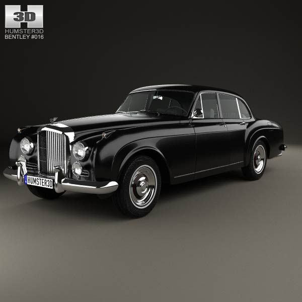 Bentley S2 Continental Flying Spur 1959 3d Model From