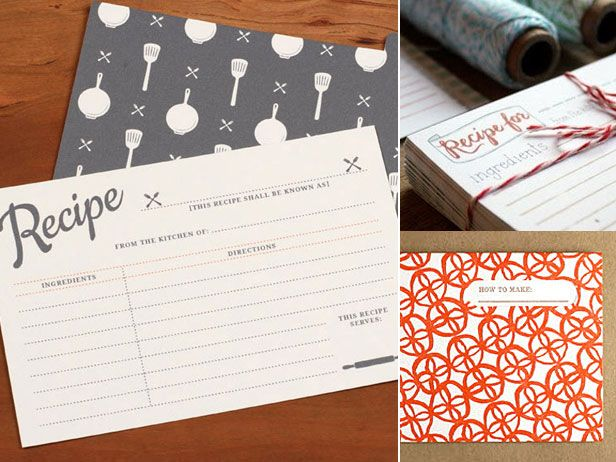 Osbp the food network recipe cards and letterpresses osbp the food network recipe cardsfood forumfinder Choice Image