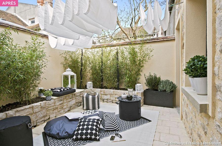 Quatre idées déco pour aménager votre terrasse outdoor ideas and