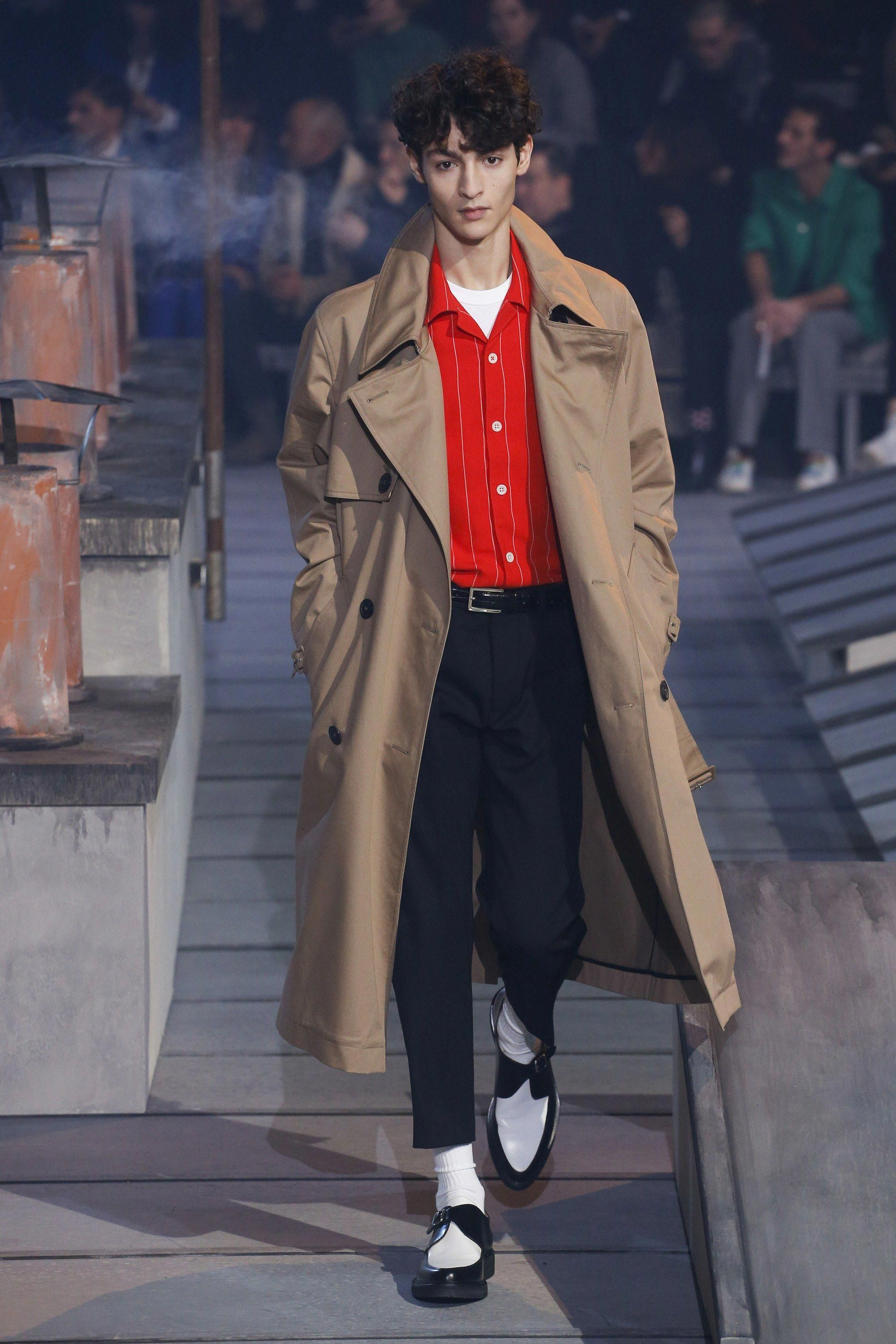 The complete ami fall menswear fashion show now on vogue runway