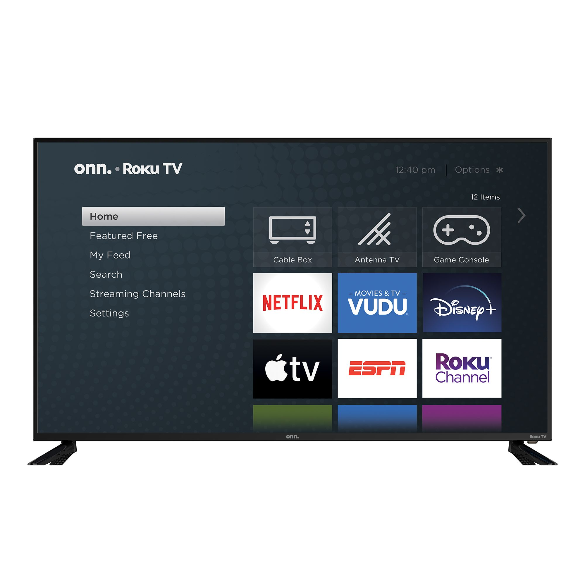 Onn 58 Class 4k Uhd 2160p Led Roku Smart Tv Hdr 100018971 Walmart Com In 2020 Smart Tv Led Tv Roku