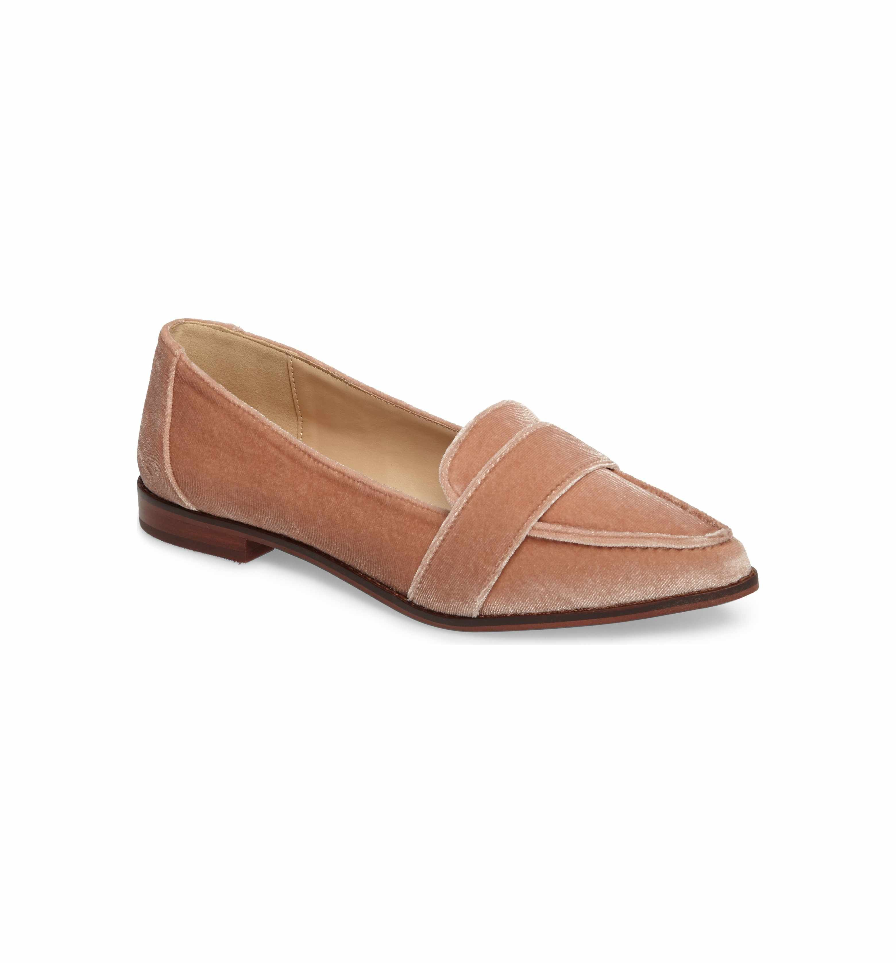 Sole Society Women's Edie Pointy Toe Loafer