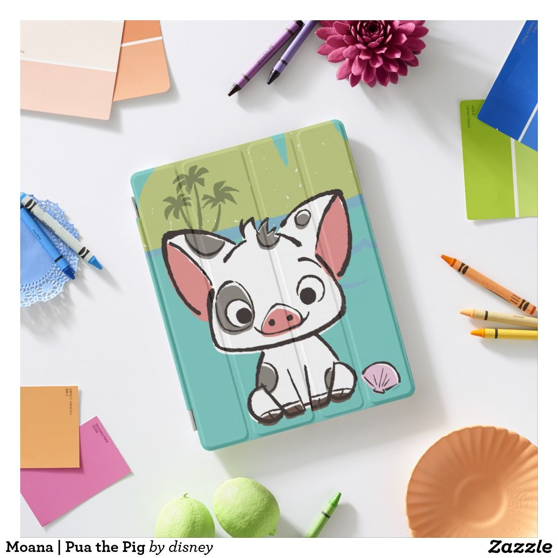 Moana Pua The Pot Bellied Pig Ipad Smart Cover Pintura En  # Muebles Agustin Moana