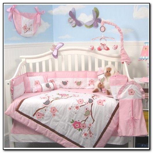 baby girl nursery bedding birds - Baby Girl Bedding