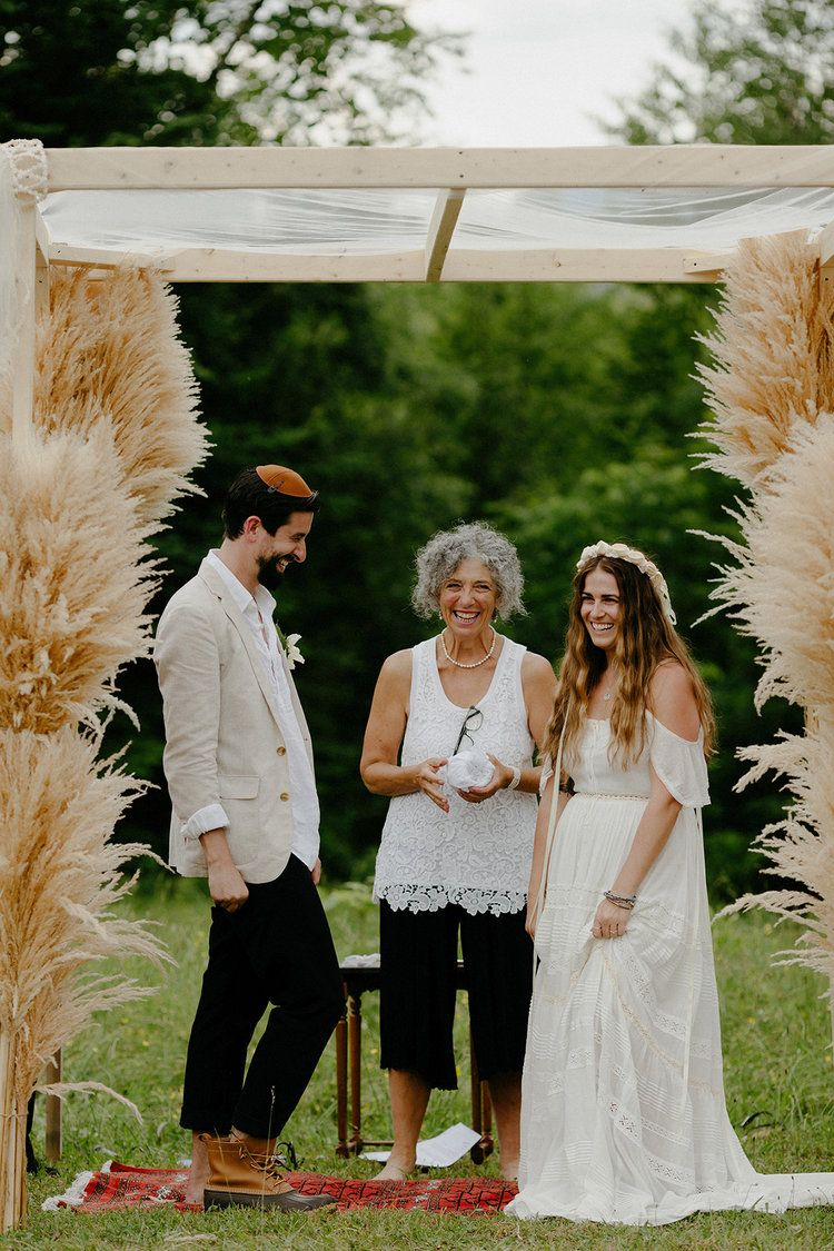Boho Wedding In Westmore Vt Spell Bride Dress Photographed By Justine Montigny Boho Wedding Wedding Vermont Wedding
