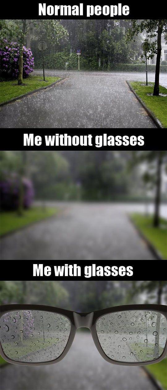 Image result for meme rain glasses